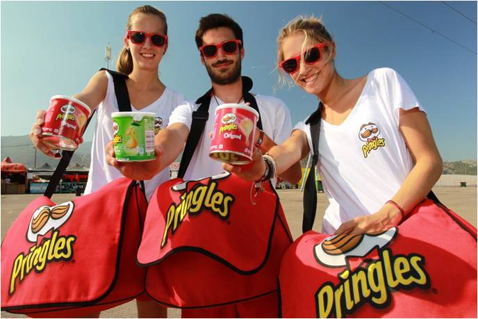 pringles promotion spain people4fair